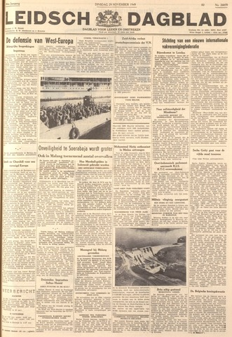 Leidsch Dagblad 1949-11-29