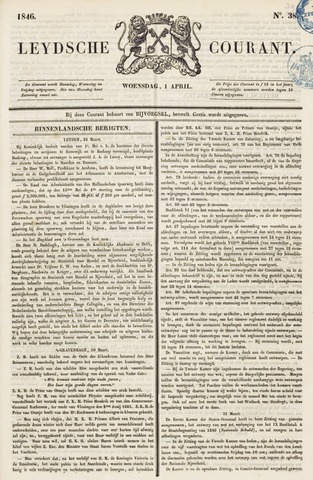 Leydse Courant 1846-04-01