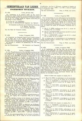 Handelingen van de Raad 1916-07-29
