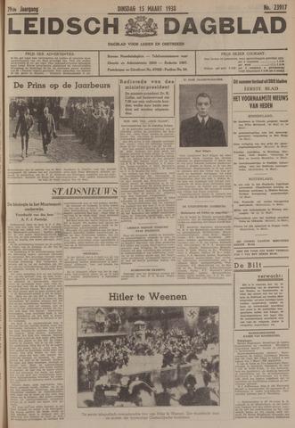 Leidsch Dagblad 1938-03-15