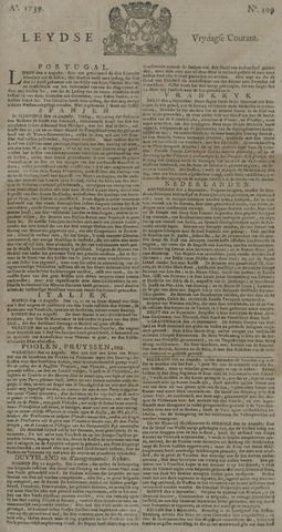 Leydse Courant 1739-09-11