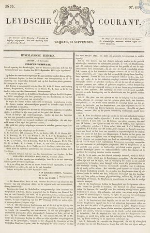 Leydse Courant 1853-09-16