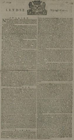 Leydse Courant 1734-11-05