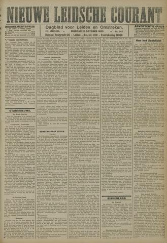 Nieuwe Leidsche Courant 1923-10-16