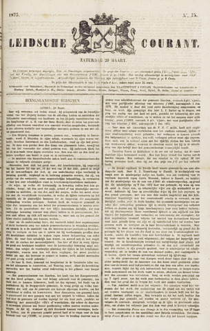 Leydse Courant 1873-03-29