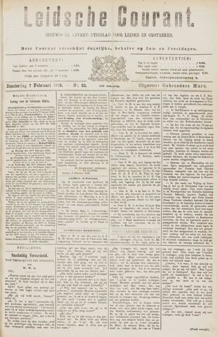 Leydse Courant 1889-02-07