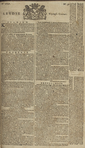 Leydse Courant 1757-03-25