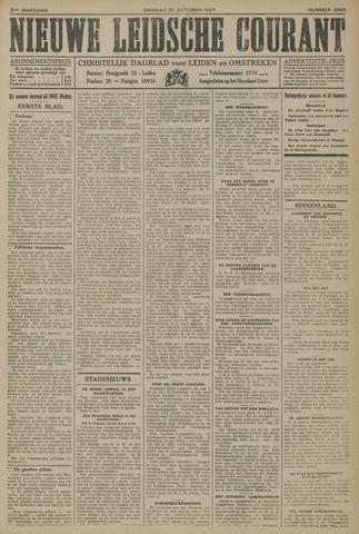 Nieuwe Leidsche Courant 1927-10-25