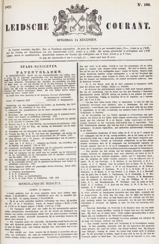 Leydse Courant 1877-08-14
