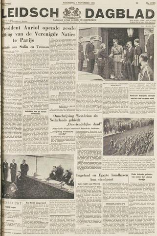 Leidsch Dagblad 1951-11-07