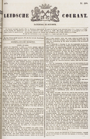 Leydse Courant 1875-10-23