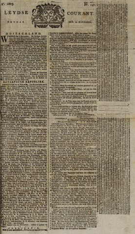 Leydse Courant 1805-11-22
