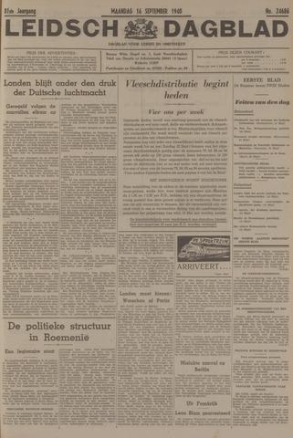 Leidsch Dagblad 1940-09-16