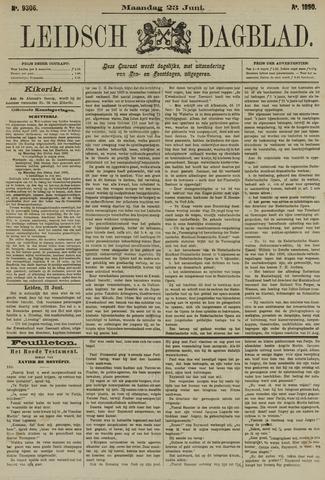 Leidsch Dagblad 1890-06-23