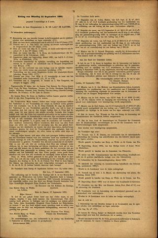 Handelingen van de Raad 1881-09-22