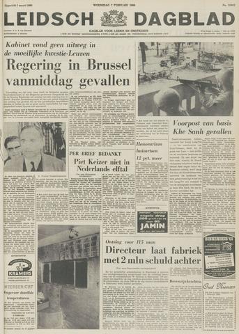 Leidsch Dagblad 1968-02-07