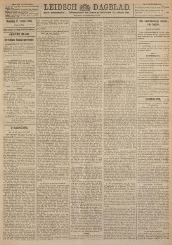 Leidsch Dagblad 1923-02-21