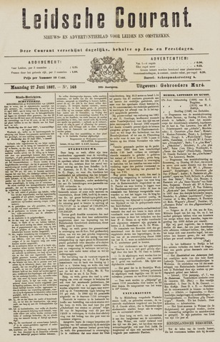 Leydse Courant 1887-06-27