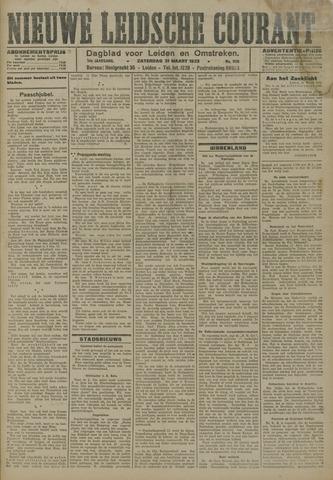 Nieuwe Leidsche Courant 1923-03-30
