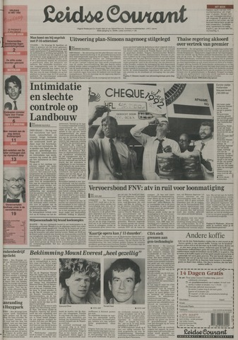 Leidse Courant 1992-05-22