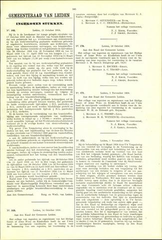 Handelingen van de Raad 1938-10-21