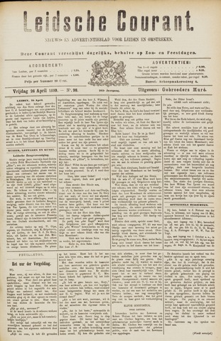 Leydse Courant 1889-04-26
