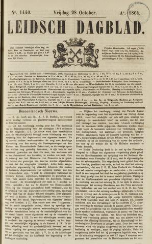 Leidsch Dagblad 1864-10-28
