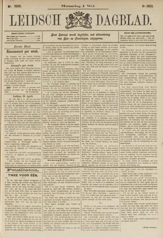 Leidsch Dagblad 1893-05-01