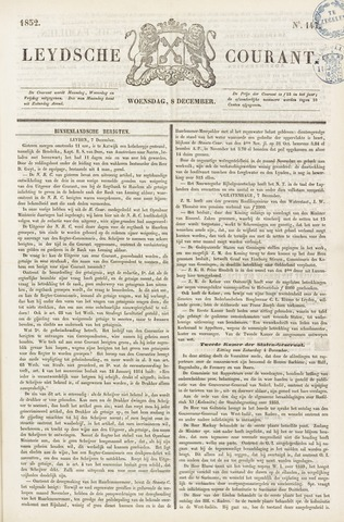 Leydse Courant 1852-12-08