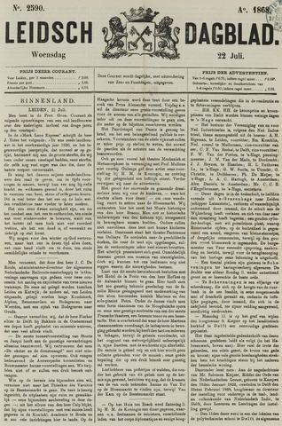 Leidsch Dagblad 1868-07-22