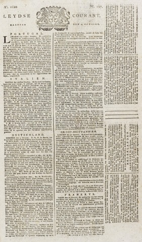 Leydse Courant 1820-10-23