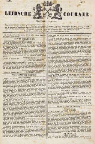 Leydse Courant 1870