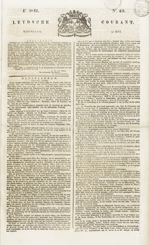 Leydse Courant 1841-05-19