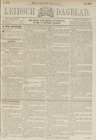 Leidsch Dagblad 1892-01-23