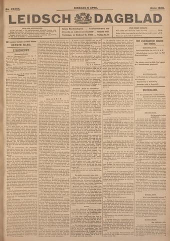 Leidsch Dagblad 1926-04-06