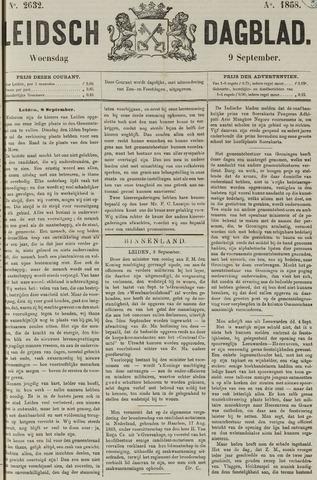 Leidsch Dagblad 1868-09-09