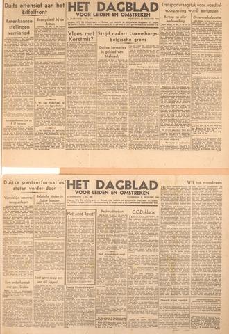 Dagblad voor Leiden en Omstreken 1944-12-21