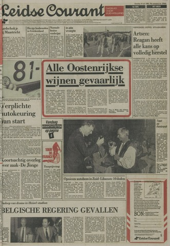 Leidse Courant 1985-07-16