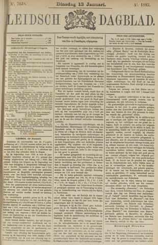 Leidsch Dagblad 1885-01-13