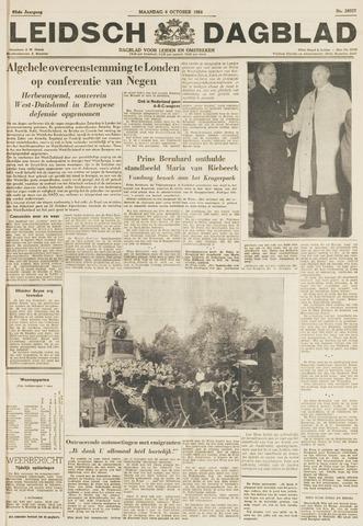 Leidsch Dagblad 1954-10-04