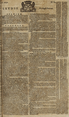 Leydse Courant 1752-07-14