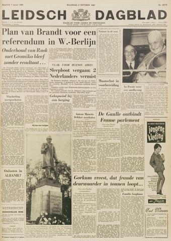 Leidsch Dagblad 1962-10-08