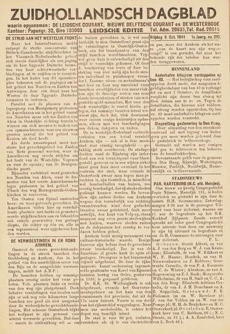 Zuidhollandsch Dagblad 1944-10-06