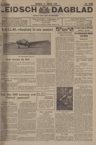 Leidsch Dagblad 1940-01-22