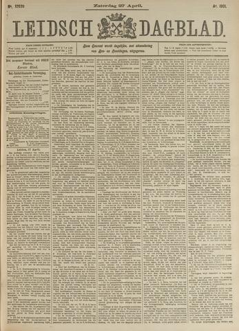 Leidsch Dagblad 1901-04-27