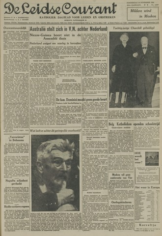 Leidse Courant 1954-11-25