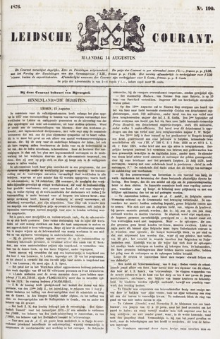 Leydse Courant 1876-08-14