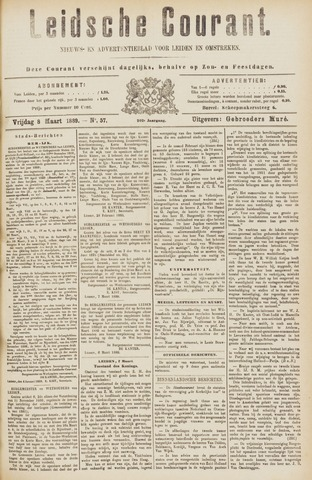 Leydse Courant 1889-03-08