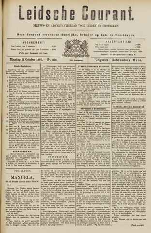 Leydse Courant 1887-10-11