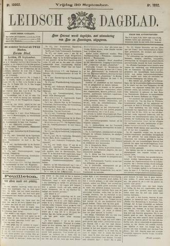 Leidsch Dagblad 1892-09-30